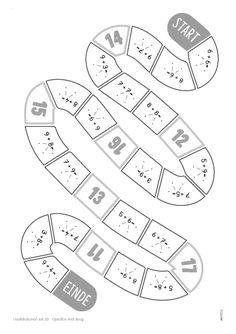 Educatieve bordspellen voor het basisonderwijs #ebbo #rekenspel #rekenen #hoofdrekenen #tot20 #ganzenbord Mathematics, Homeschool, Posters, Names, Dyscalculia, Math, Poster, Homeschooling, Billboard