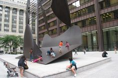 Untitled (playground) by Picasso, Chicago, 1967 - Playscapes