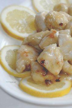 Bocconcini di pollo al limone | Pollo al limone ricetta di @vicaincucina