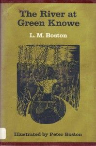 The River at Green Knowe, by L.M. Boston // part of a series of books about a very old house by a river, full of history and strangeness. This was the one with the giant in it.