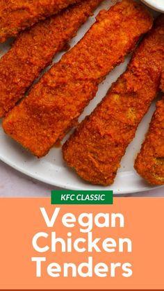 Vegan Recipes Plant Based, Tofu Recipes, Vegan Dinner Recipes, Vegan Dinners, Vegan Recipes Easy, Tofu Meals, Vegan Kfc, Vegan Vegetarian, Meals
