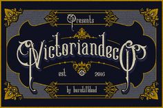 Victoriandeco - Serif