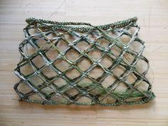 Flax Weaving - Kete - Kupenga Knot                                                                                                                                                                                 More