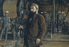 Akseli Gallen-Kallelan muotokuva G. A. Serlachiuksesta.