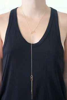 Gorjana Infinity II Lariat Necklace