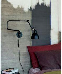 The Lampe Gras 303 wall light by Bernard Albin Gras