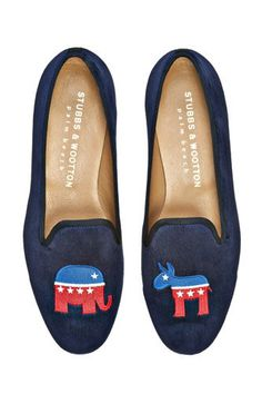 Perfectly patriotic men's shoes for the 4th!