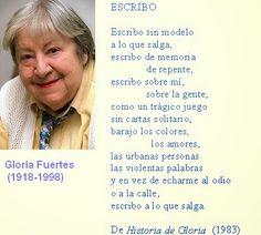 Gloria Fuertes. Poesía