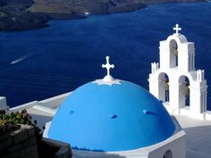 Oia Santorini Church Greece