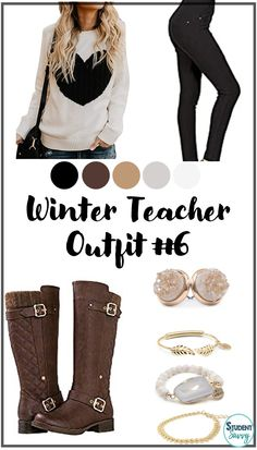 Teacher Outfits for Winter