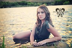 Senior pictures. water