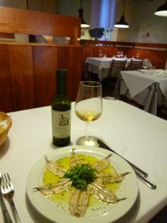 "Cena, ""Reiau"" (Ristorante), Cavi  Sestri Levante Liguria Italia (Luglio)"