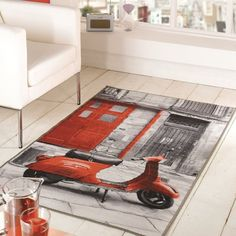 tapis chambre ado vacation flair rugs 100x160 - Tapis Ados