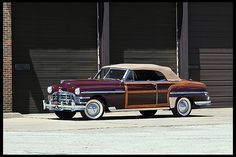 1949 Chrysler Town & Country Convertible 323/135 HP, 3-Speed  #Mecum #Chicago