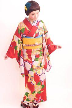 100125:金元真弓 ボブ ショート ウイッグS ウィッグボブ 髪飾り おめかし、おでかけ アンティーク着物  by Dali photo theater