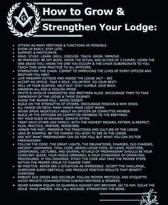 How to grow and strengthen your Lodge  #freemasonry #masons #freemasons #masonic #masonicmemes #meme #light #freemasonrysquared #freemasonry #history #facts #squareandcompass