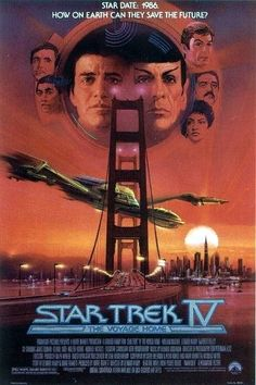 Star Trek IV: The Voyage Home (1986-Sci/Fi) dir. Leonard Nimoy Leonard Nimoy, Home Pictures, Movie List, Terms Of Service, Star Trek, Science Fiction, Sci Fi, Explore, Stars