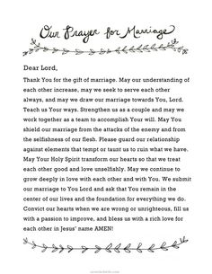 66 Ideas Wedding Quotes Marriage Prayer For For 2019 Couples Prayer, Marriage Prayer, Godly Marriage, Save My Marriage, Marriage Relationship, Happy Marriage, Marriage Advice, Love And Marriage, Quotes Marriage