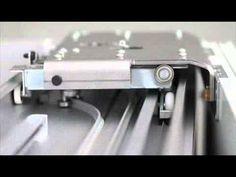 Bortoluzzi Folder sliding mechanism - YouTube