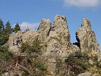 Teufelsmauer-Stieg im Harz