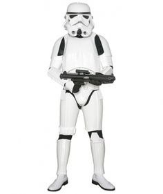 STAR WARS COSTUMES: : Star Wars Stormtrooper Costume Armor with Accessories and Ready to Wear - Original Replica - A New Hope - REDUCED SIZE