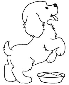Kopek Boyama Sayfasi Dog Coloring Pages Free Printable Boyama Sayfalari Cizim Egitimleri Hayvan Boyama Sayfalari