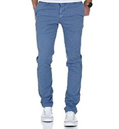 Amaci&Sons Herren Regular Slim Strech Chino Hose Fit 70010