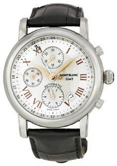 c50b94812 (Limited Supply) Click Image Above: Montblanc Chronograph Gmt Automatic  Mens Watch 36967