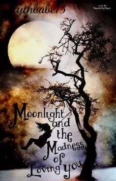 silhouette swing tree love in the moonlight Illustration, Pics Art, Stars And Moon, Belle Photo, Moonlight, Amazing Art, Awesome, Silhouettes, Fantasy Art