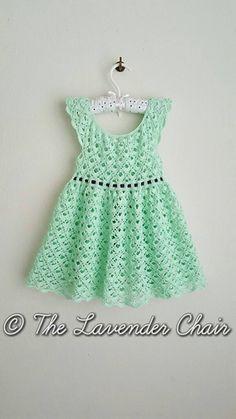 Gemstone Lace Dress - Free Crochet Pattern - The Lavender Chair