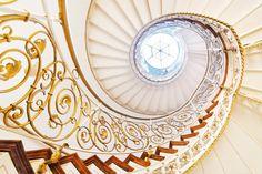 Golden Stairwell by Matthias Haker, via 500px