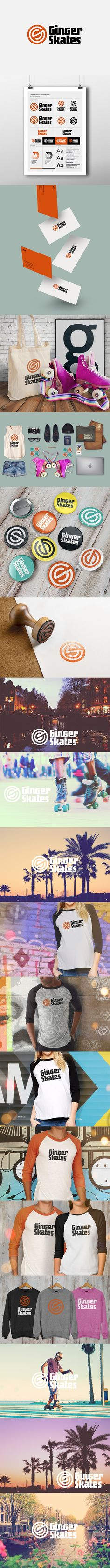 Zumiez roller skates - New Logotype And Visual Identity Designed For Ginger Skates The One And Only Shop In