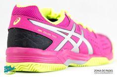 Nuevas zapatillas de #padel #Asics Gel Padel Pro 3, la opción económica con suela clay de Asics para mujer de 2015