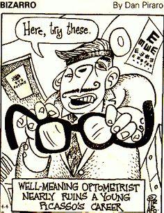 Picasso's eye exam