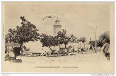 Le phare du port de St-Pierre, Martinique -