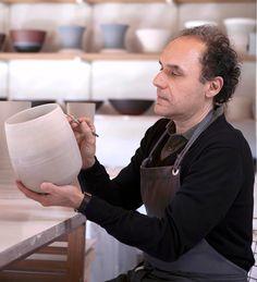 Gilberto Paim é um artista e designer ceramista com estúdio em Nova Friburgo, Rio de Janeiro. #brazilsa2015  #milan #milao #milano #designweek