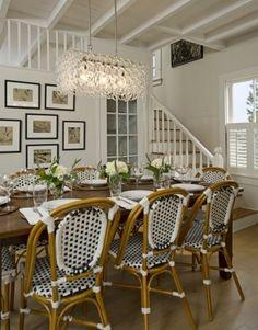 Marthas Vineyard Cottage Dining Room traditional dining room