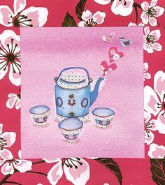 Jasmine Tea  Design by Amy Whittington