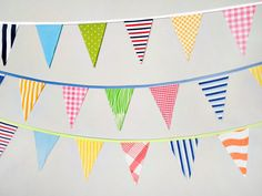 Bunting Banner . Flag Bunting . Pennant Banner by TheBuntingPlace