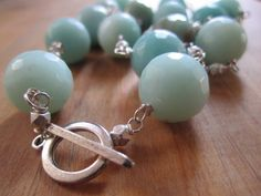 Ocean City . Sterling Silver and Faceted by MicheleMolesky on Etsy, $48.00