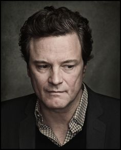 """Colin Firth"" by Dan Winters"