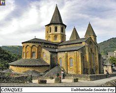 CONQUES - Aveyron --- Abbatiale Sainte Foy