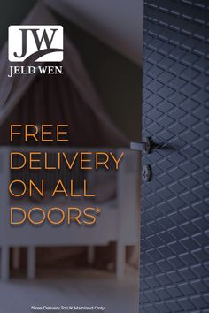 All Jeld-wen doors like this Diamond Contour door come with free delivery!