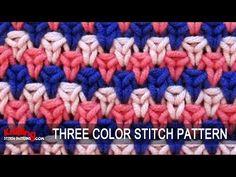 Three-Color Stitch Pattern #1 - 11/29/2014