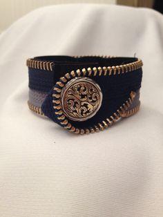 $15+$4 Fashion Jewelry Zipper Bracelet by HopeandPlay on Etsy