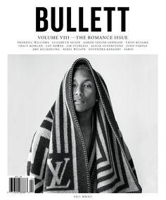 BULLETT Magazine featuring cover star Pharrell Williams shot by Tim Barber.
