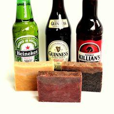 Christmas Gift for Men Homemade Beer Soap Gift by GingerGreySoaps, $18.00