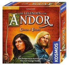 Die Legenden von Andor - Chada + Thorn | Familienspiele | Spiele | Spielware | KOSMOS