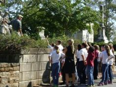 Oakland Cemetery with Young Historians, educational program for homeschool students