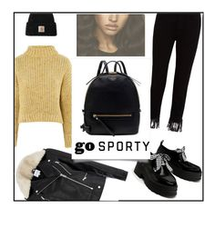 """Backpack contest n.2"" by ceci4diplomazy ❤ liked on Polyvore featuring Topshop, 3x1, Warehouse, Carhartt, Radley, backpack, sporty and urbanstyle"